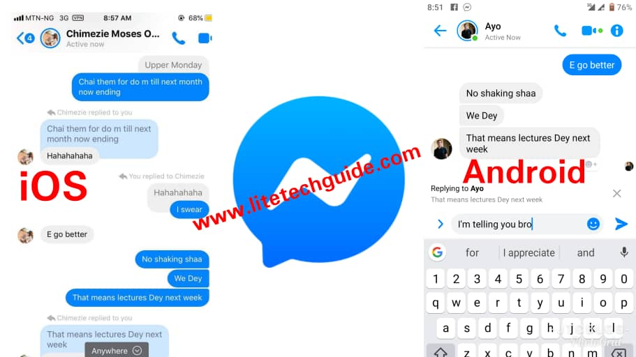 Messenger Convenient 'Swipe-To-Reply' Feature Now Available For Android And iOS Users: Here's How To Use It