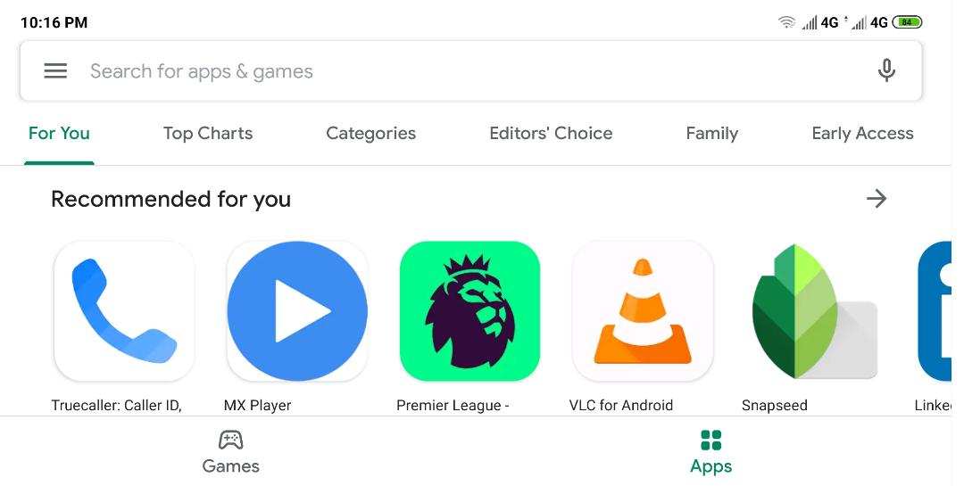 Google Play Store Has A New Overhaul Awesome Design