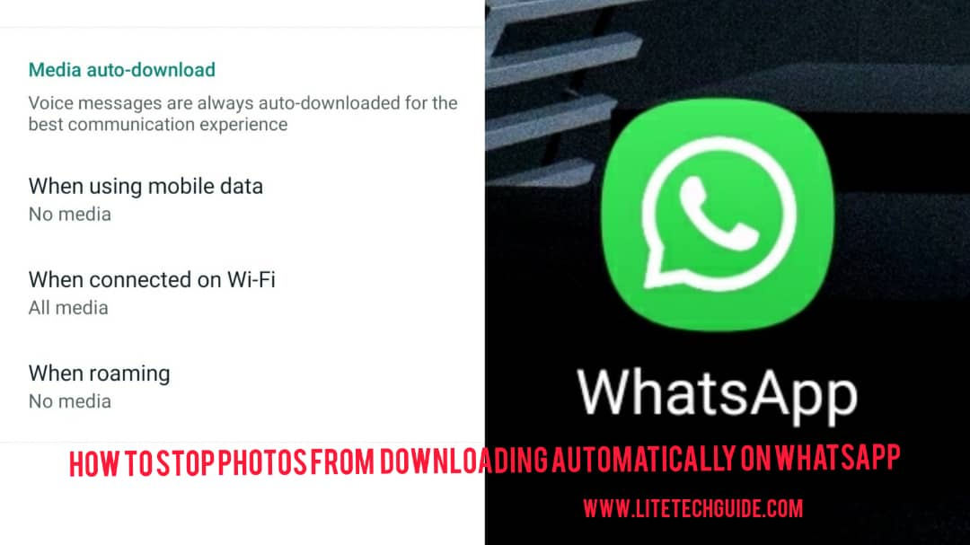 How To Stop Photos From Downloading Automatically On WhatsApp
