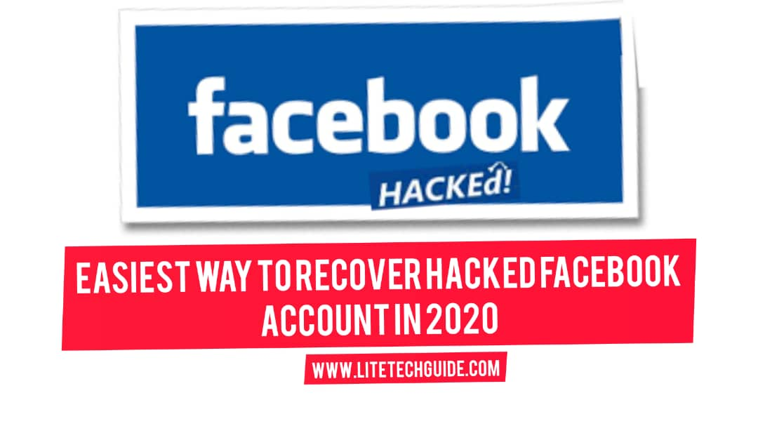 Easiest Way To Recover Hacked Facebook Account In 2020
